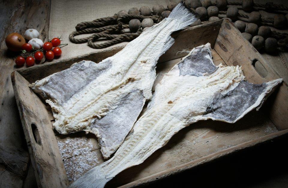 Dried Salted Cod - Black Wings