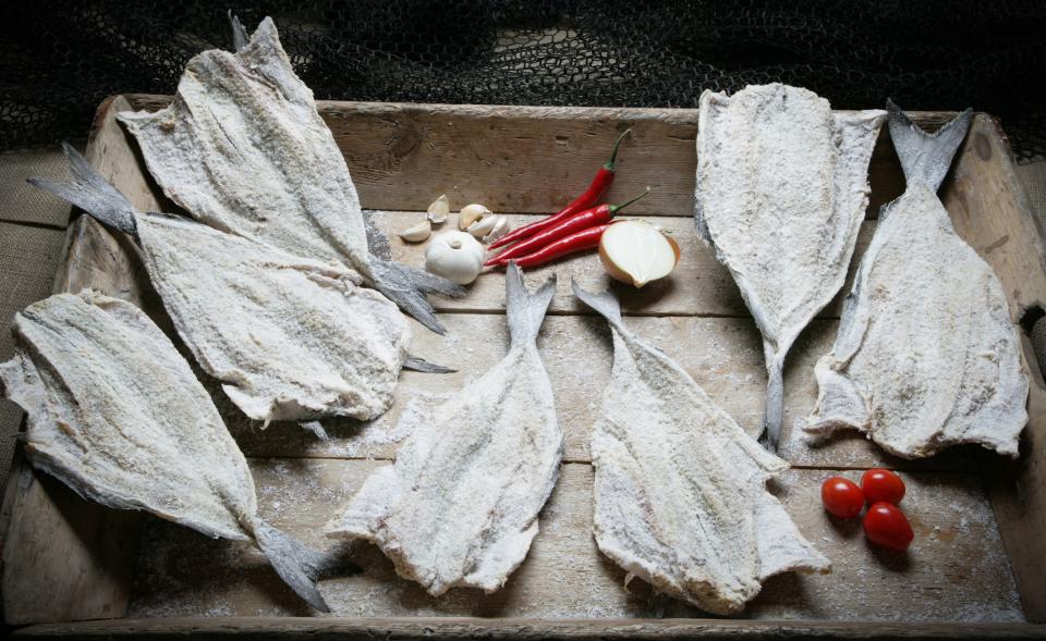 Dried Salted Saithe