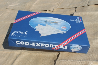 Cod-Export 9 or 10 kgs Carton