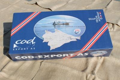 Cod-Export 25 kgs Carton